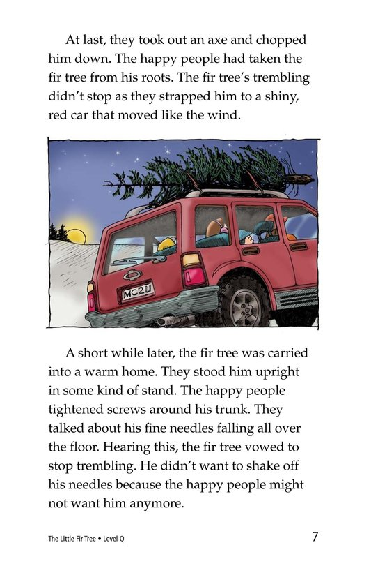 Book Preview For The Little Fir Tree Page 7