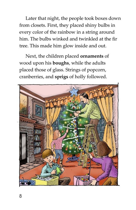 Book Preview For The Little Fir Tree Page 8