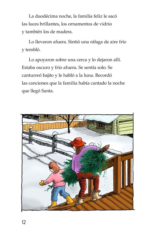 Book Preview For The Little Fir Tree Page 12