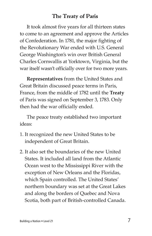 Book Preview For Building a Nation Page 7