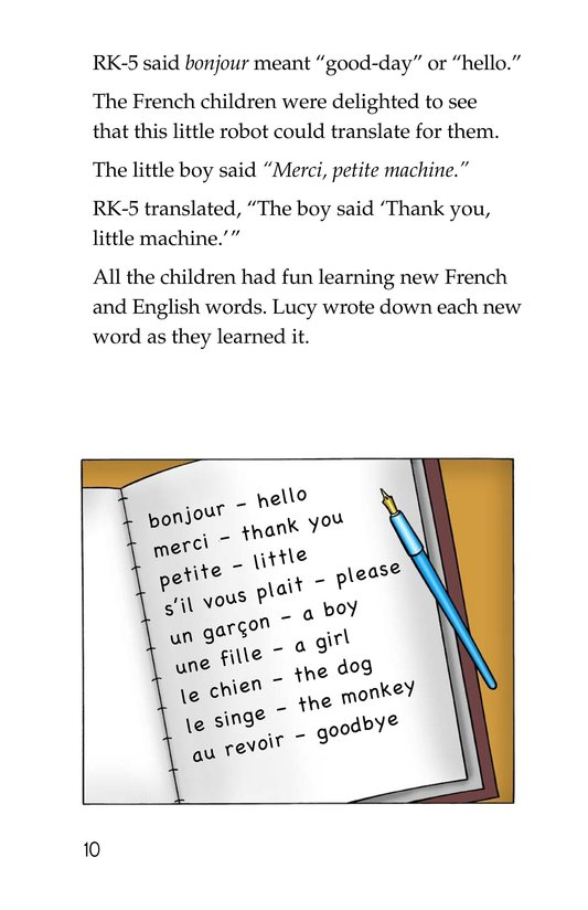 Book Preview For Tommy's Trip to France Page 10