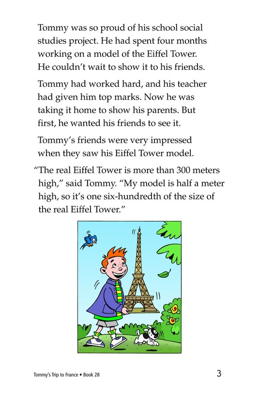 Book Preview For Tommy's Trip to France Page 3