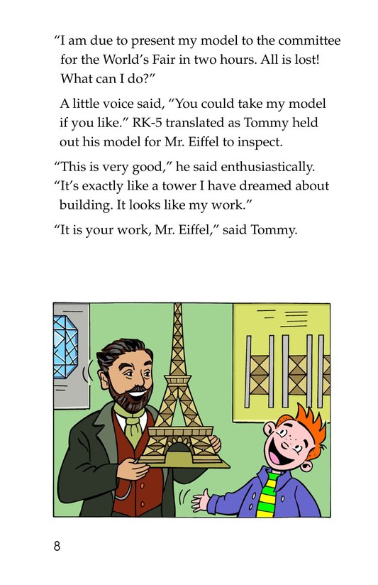 Book Preview For Tommy's Trip to France Page 8