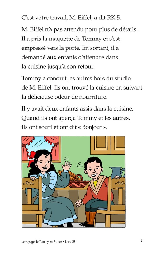 Book Preview For Tommy's Trip to France Page 9