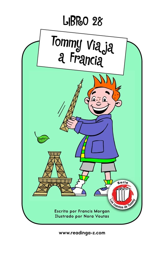 Book Preview For Tommy's Trip to France Page 1