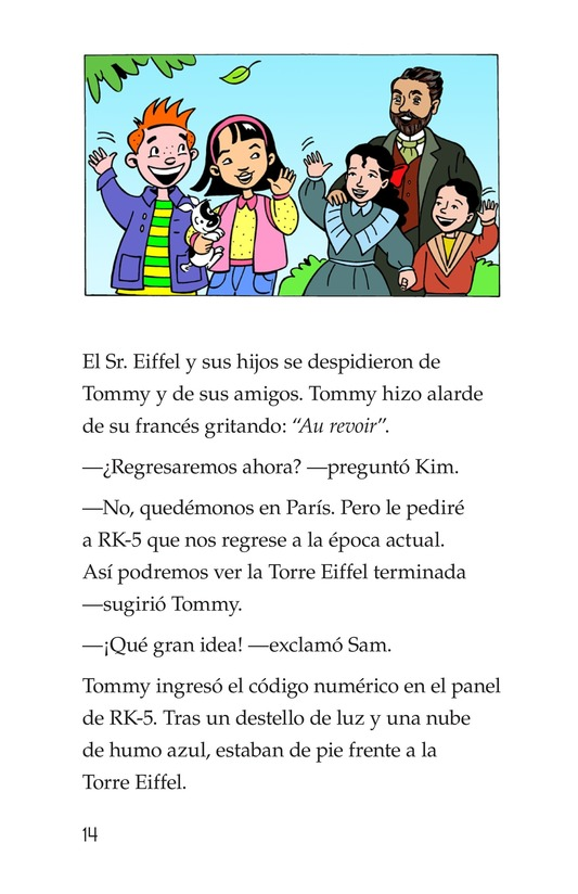 Book Preview For Tommy's Trip to France Page 14