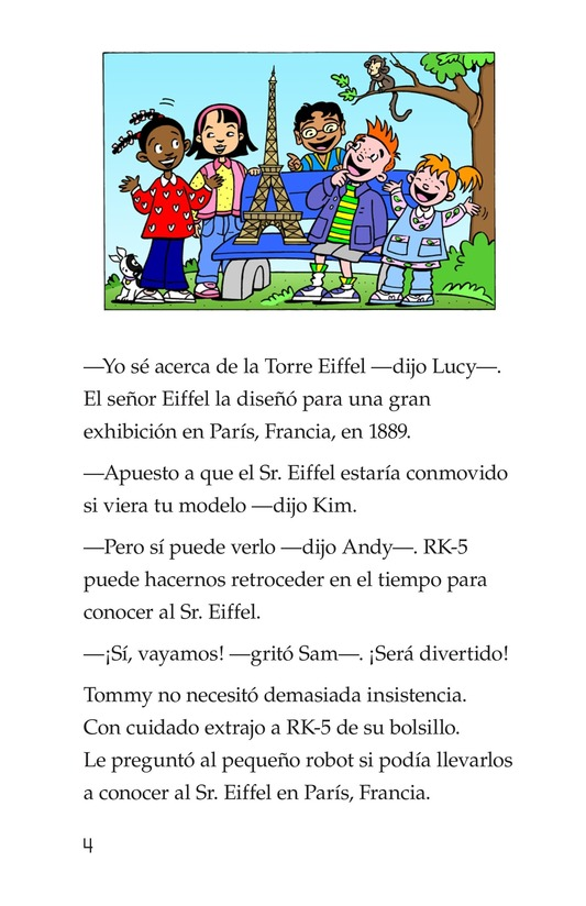 Book Preview For Tommy's Trip to France Page 4