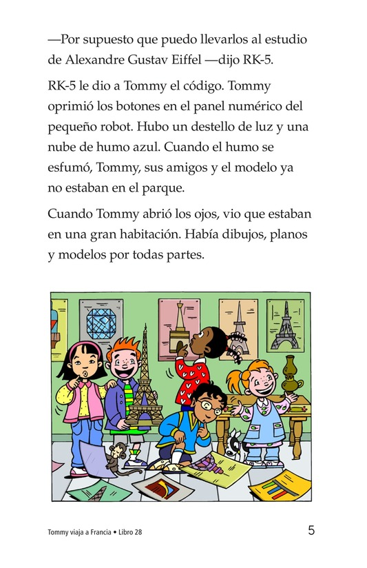 Book Preview For Tommy's Trip to France Page 5
