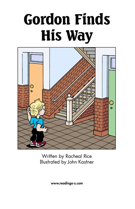 Book Preview For Gordon Finds His Way Page 2