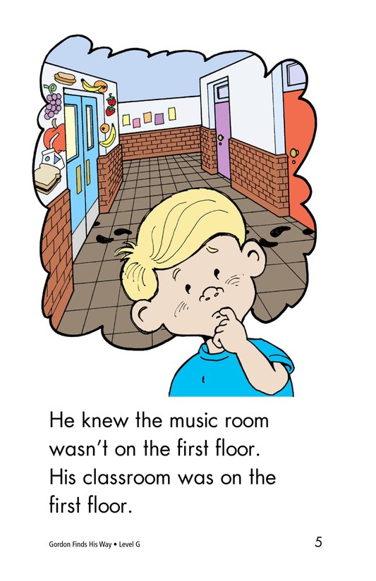 Book Preview For Gordon Finds His Way Page 5