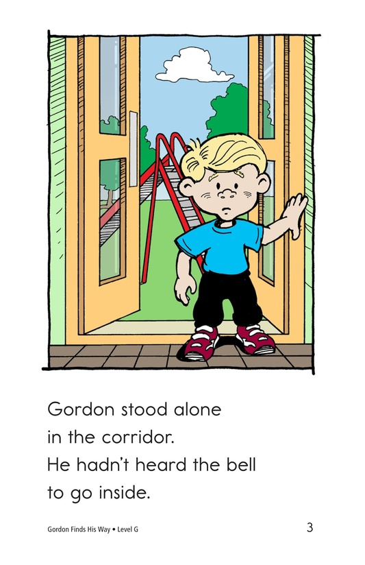 Book Preview For Gordon Finds His Way Page 3