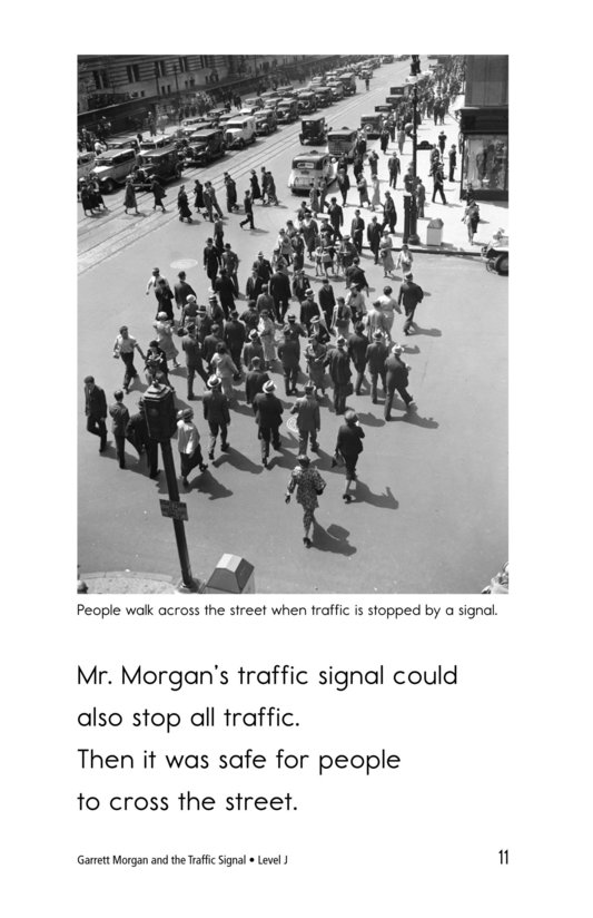 Book Preview For Garrett Morgan and the Traffic Signal Page 11
