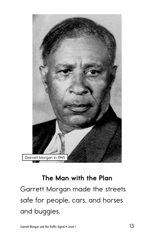 Book Preview For Garrett Morgan and the Traffic Signal Page 13