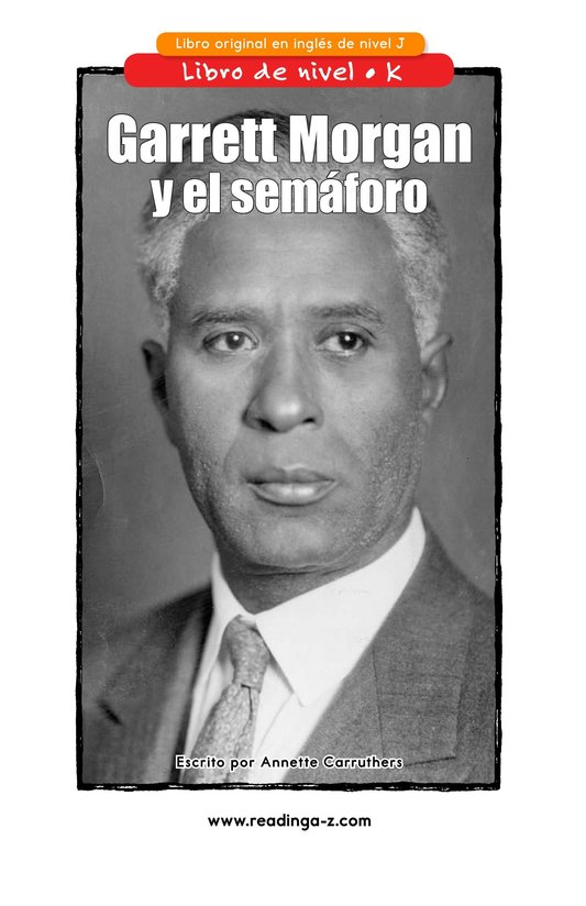 Book Preview For Garrett Morgan and the Traffic Signal Page 1