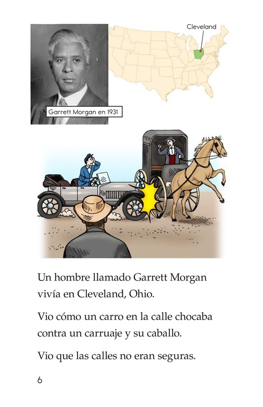 Book Preview For Garrett Morgan and the Traffic Signal Page 6