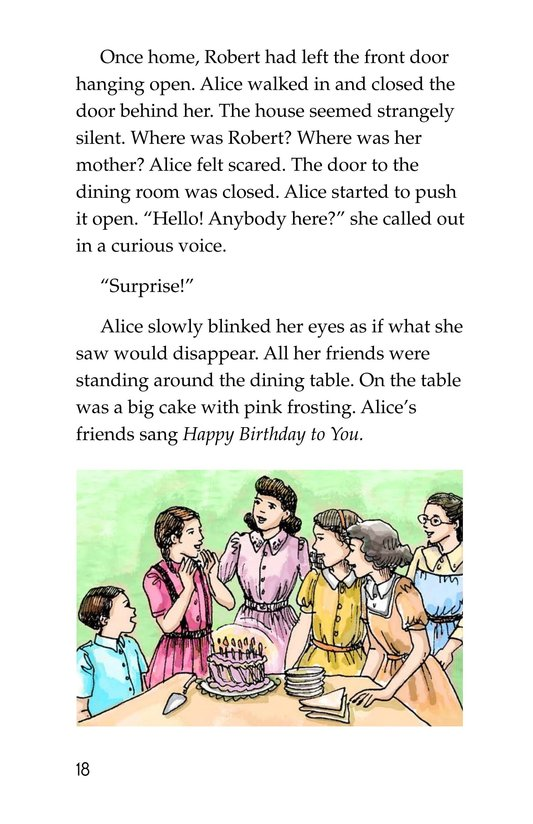 Book Preview For Alice's Birthday Cake Page 18