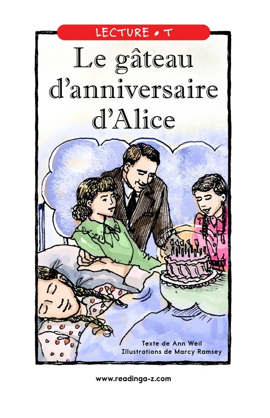 Book Preview For Alice's Birthday Cake Page 1