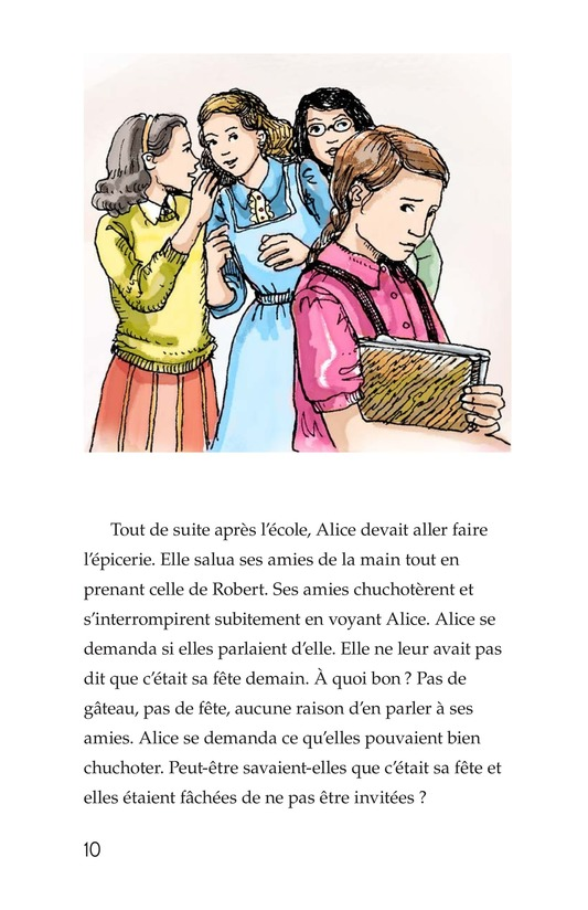 Book Preview For Alice's Birthday Cake Page 10