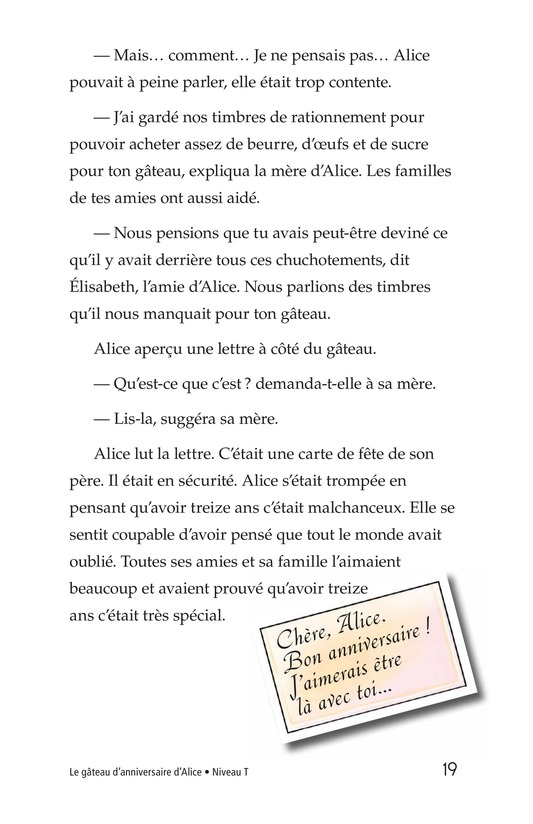 Book Preview For Alice's Birthday Cake Page 19