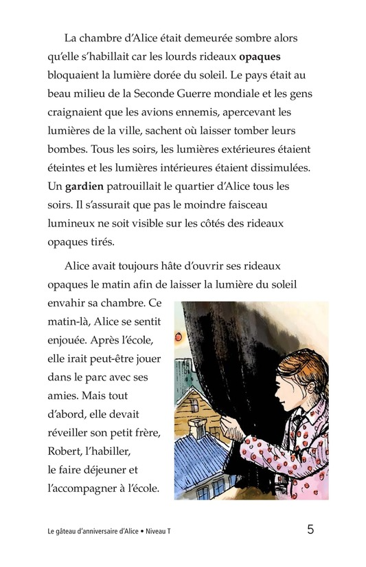 Book Preview For Alice's Birthday Cake Page 5
