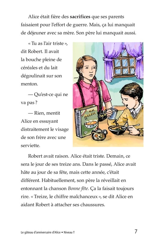 Book Preview For Alice's Birthday Cake Page 7