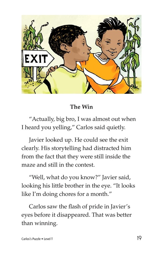 Book Preview For Carlos's Puzzle Page 19