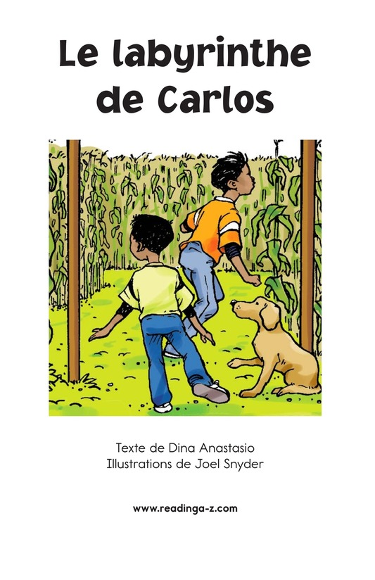 Book Preview For Carlos's Puzzle Page 2