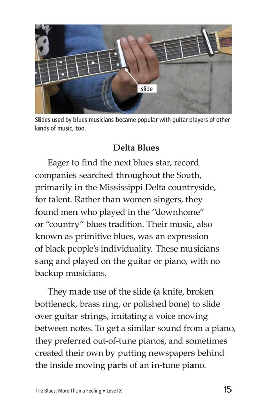 Book Preview For The Blues: More Than A Feeling Page 15