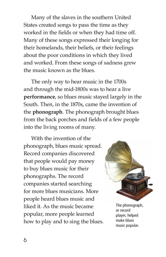 Book Preview For The Blues: More Than A Feeling Page 6