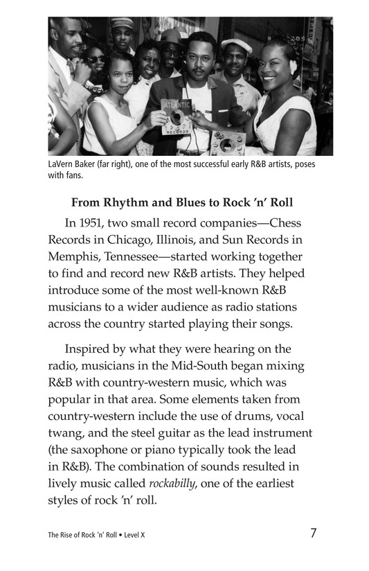 Book Preview For Early Moments in Rock Music History Page 7