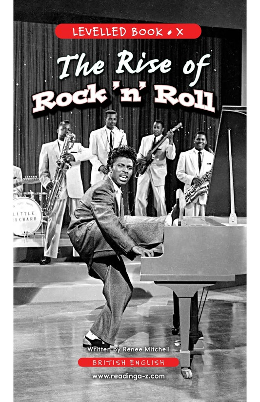 Book Preview For Early Moments in Rock Music History Page 1