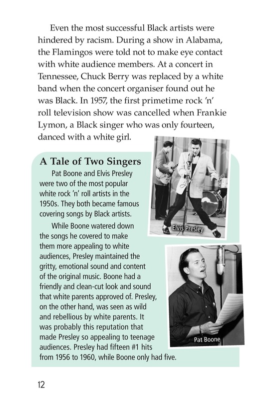 Book Preview For Early Moments in Rock Music History Page 12