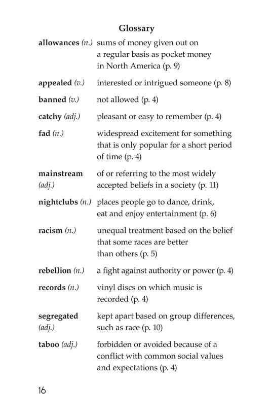 Book Preview For Early Moments in Rock Music History Page 16