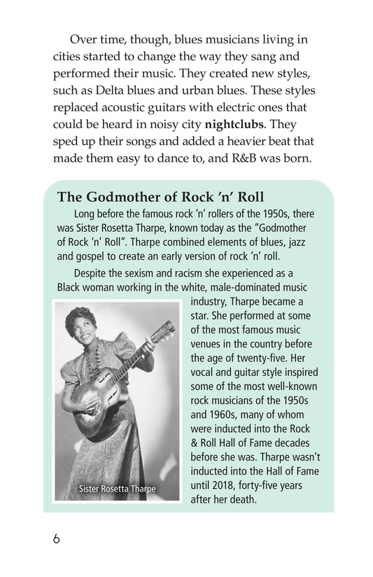 Book Preview For Early Moments in Rock Music History Page 6