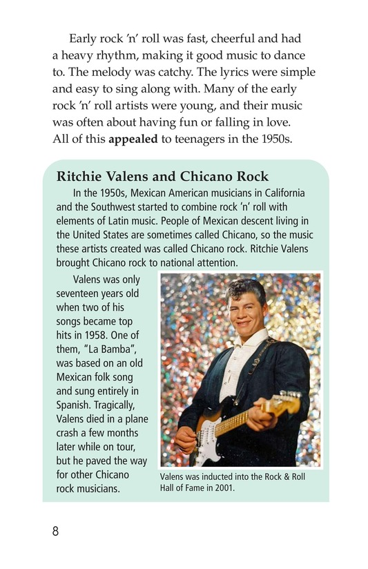 Book Preview For Early Moments in Rock Music History Page 8