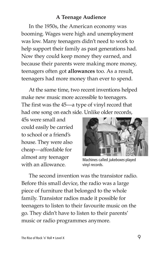 Book Preview For Early Moments in Rock Music History Page 9