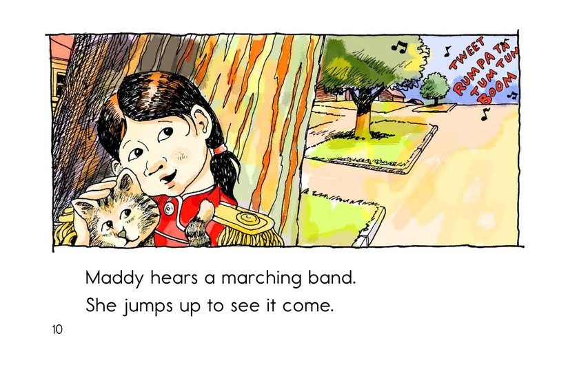 Book Preview For Maddy Loves to March Page 10