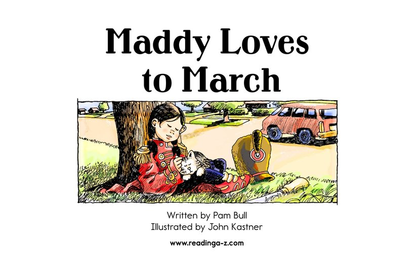 Book Preview For Maddy Loves to March Page 2
