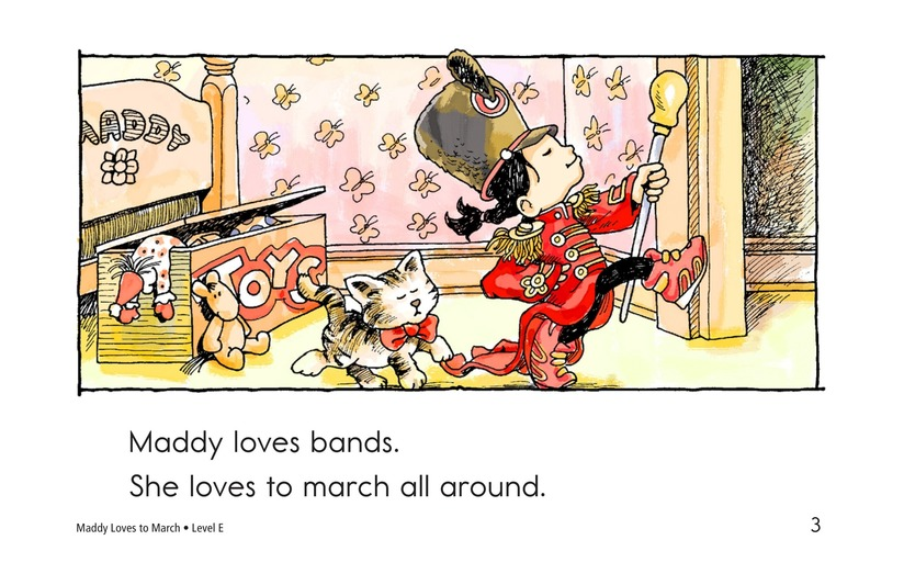 Book Preview For Maddy Loves to March Page 3