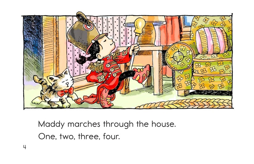 Book Preview For Maddy Loves to March Page 4