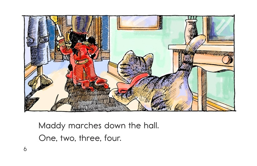 Book Preview For Maddy Loves to March Page 6