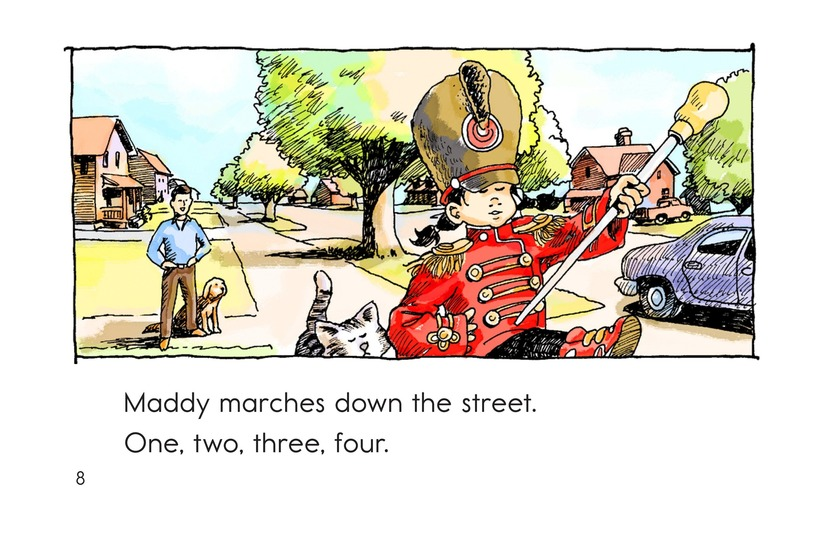 Book Preview For Maddy Loves to March Page 8