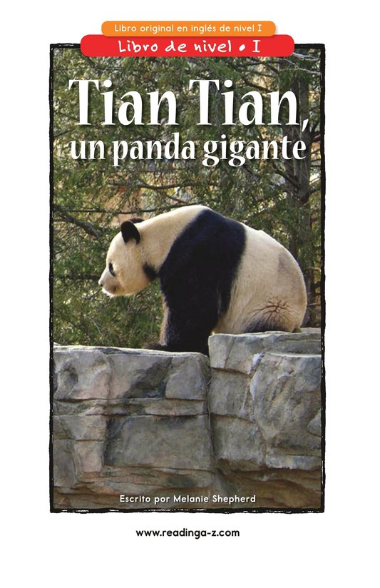 Book Preview For Tian Tian, a Giant Panda Page 1