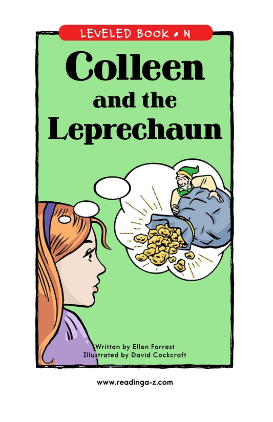 Book Preview For Colleen and the Leprechaun Page 1
