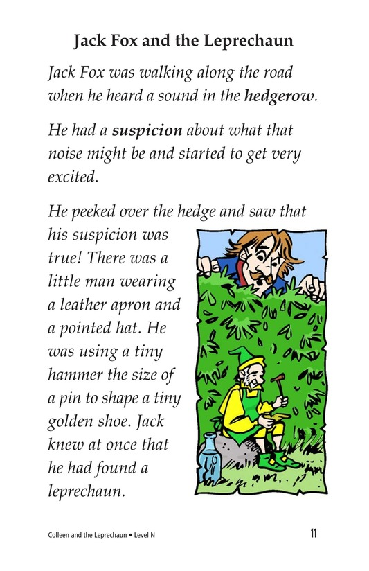 Book Preview For Colleen and the Leprechaun Page 11