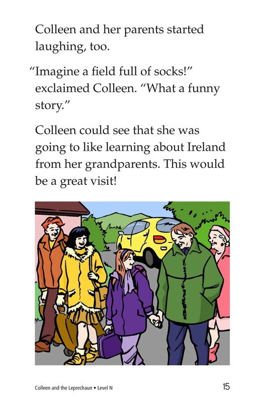 Book Preview For Colleen and the Leprechaun Page 15