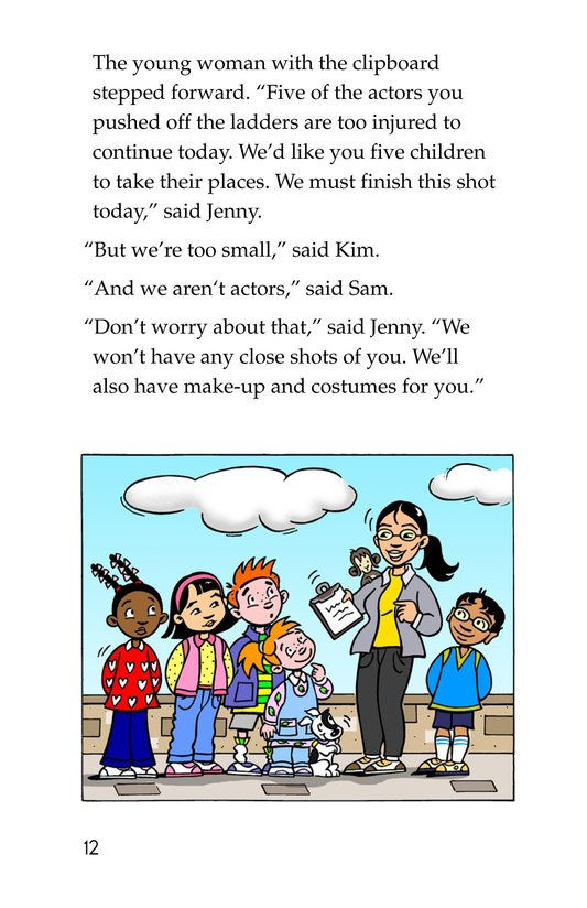 Book Preview For Tommy and the Great Wall Page 12
