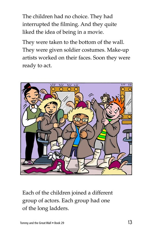 Book Preview For Tommy and the Great Wall Page 13