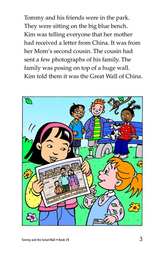 Book Preview For Tommy and the Great Wall Page 3