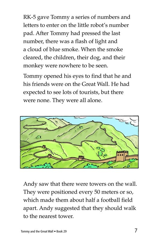 Book Preview For Tommy and the Great Wall Page 7